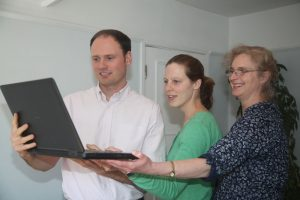 Haslemere Chiropractors Observing Laptop