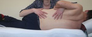 Chiropractic Treatment Of Patient