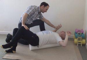 Rehabilitation On Foam Roller